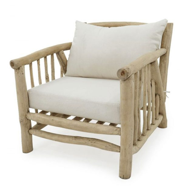 Solo 1 Seater Teak Branch Furniture