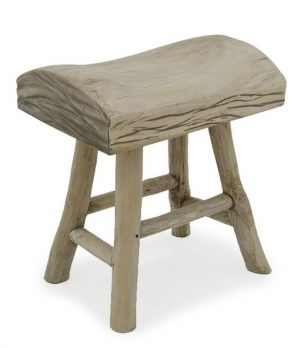 Bucharest Stool Wooden Teak Branch Furniture