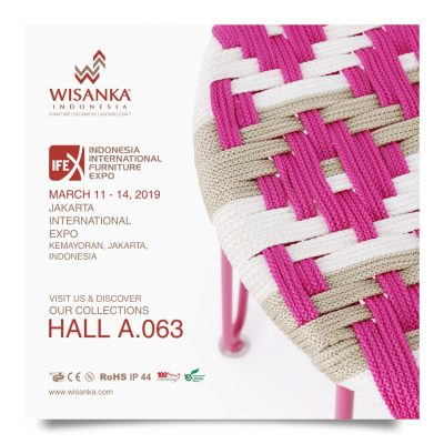 Wisanka Indonesia IFEX 2019 Indoor Rope Furniture 400x400