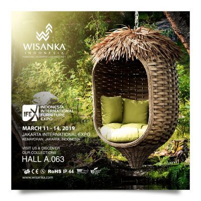 Wisanka Indonesia IFEX 2019 Rattan Craft And Furniture Decoration 400x400