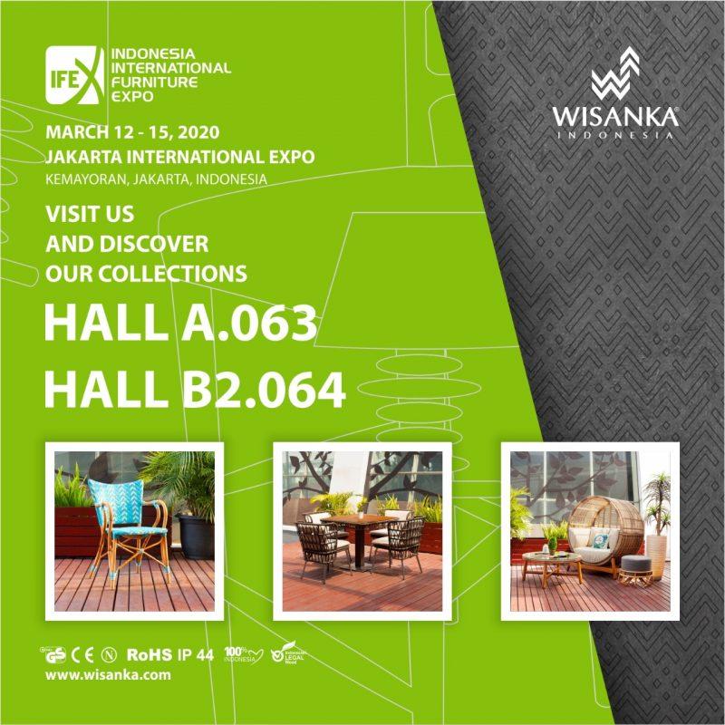 IFEX 2020 Jakarta IFEX 2020 Indonesia Classic Furniture Company