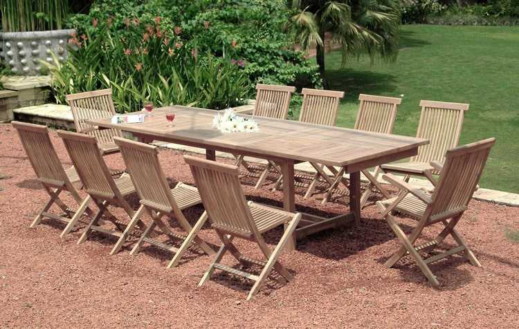 Refinish Teak Outdoor Furniture